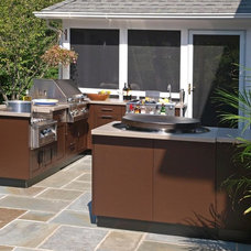 Contemporary Patio by Brown Jordan Outdoor Kitchens