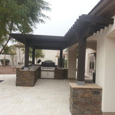 Contemporary Patio by MONSTER POOL COMPANY