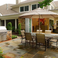 Traditional Patio by Landscape Design Group Inc.