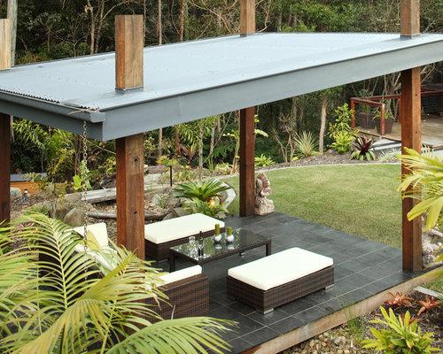 Billeder og inspiration til tropisk gårdhave