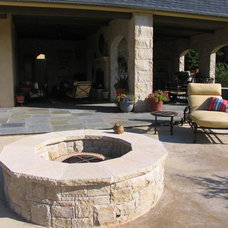 Traditional Patio by Richburg Stone Supply