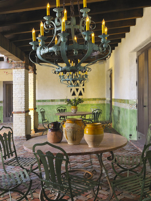 Spanish Patio Houzz