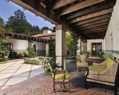 Southwestern san francisco patio design ideas pictures for Courtyard renovation ideas