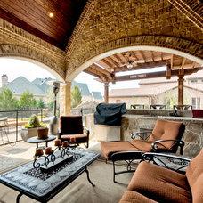 Traditional Patio by Bud Bartley Custom Homes