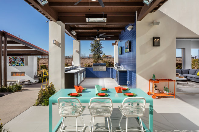 Contemporary Patio by Bobby Berk Home