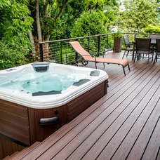 "Contemporary Patio by Long Island Hot Tub ""Hot Tub and Pool Experts"""
