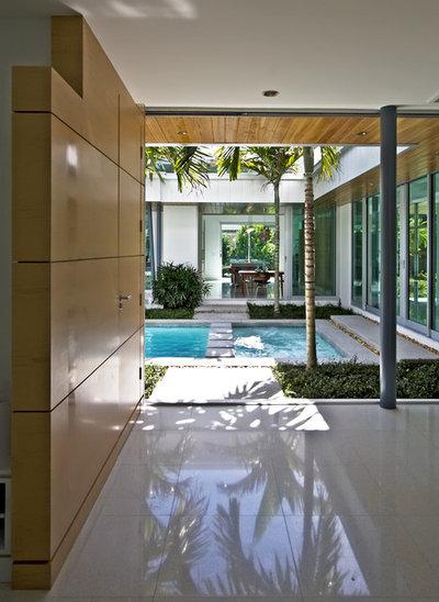 Moderne Terrasse et Patio by Bultman Architecture