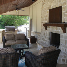 Traditional Patio by Rankin Construction