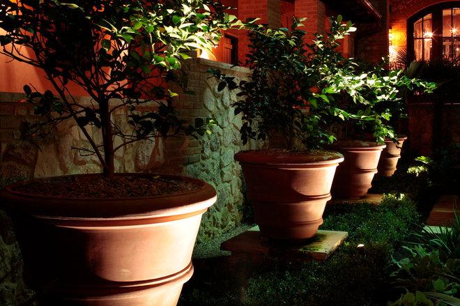 Mediterranean Patio by Root Design Company.com