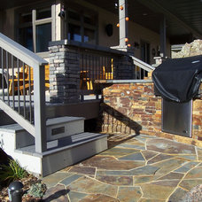 Traditional Deck by Wagner & Company Landscape Construction & Design