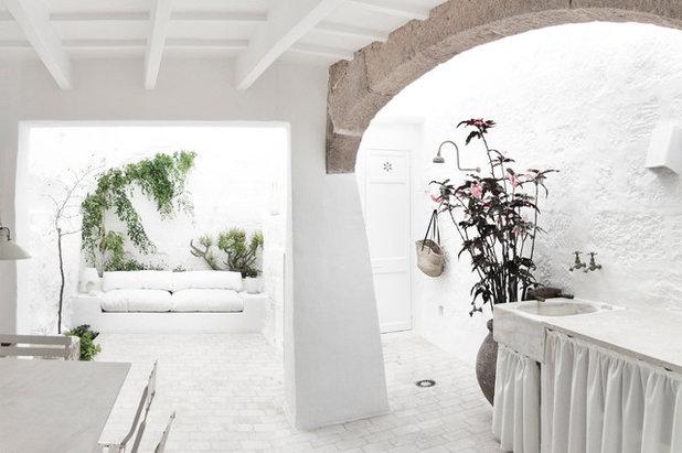Mediterranean Patio by Marina Senabre