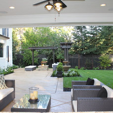 Traditional Patio by Fautt Homes