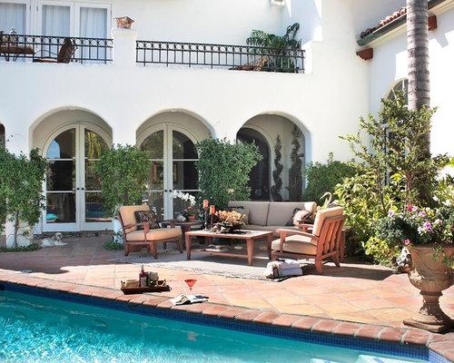 Balcony tiles home design ideas renovations photos for Mediterranean balcony ideas