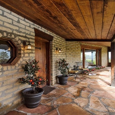 Traditional Patio by Dennis Mayer, Photographer