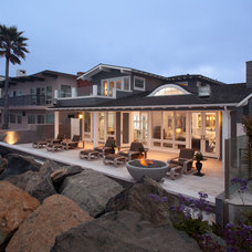 Beach Style Patio by Wardell Builders, Inc.