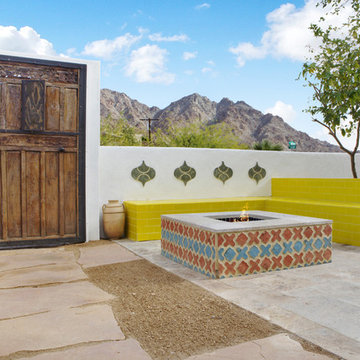 California Desert Moroccan Home