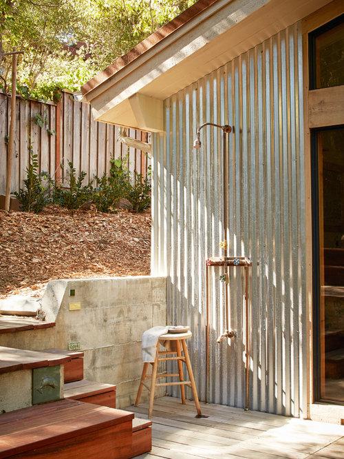 Foto e idee per patii e portici patio o portico in for Portico rustico