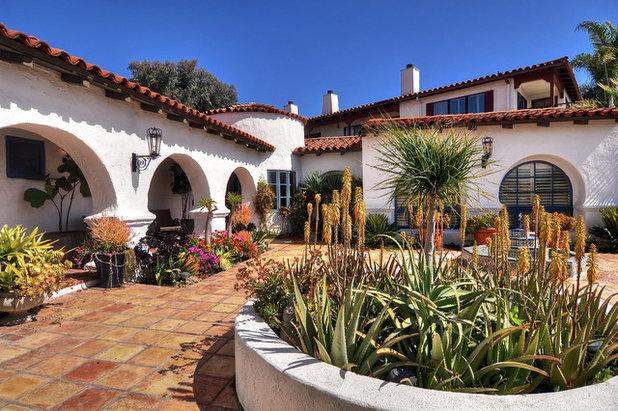 地中海 テラス・中庭 California Spanish Revival