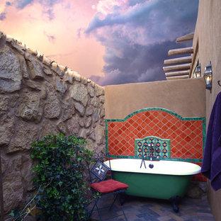 Cette photo montre une terrasse sud-ouest américain.