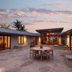 Beverly Ridge Residence Contemporary Patio Los