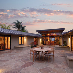 contemporary patio by Thompson Naylor Architects Inc