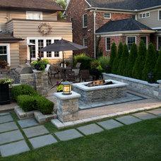 Transitional Patio by Four Seasons Garden Center & Custom Landscape