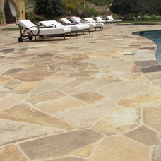 Traditional Patio by KGO STONE, The Natural Stone Company
