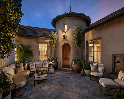 Front Yard Courtyard Houzz