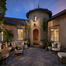 Mediterranean Patio by Camelot Homes