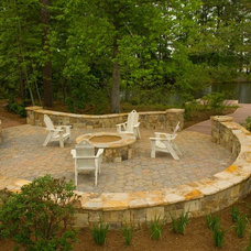 Craftsman Patio by Pine Mountain Builders, LLC