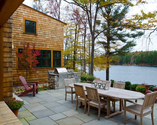 Rustic bbq station home design, photos & decor ideas
