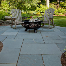 Traditional Patio by Natural Path Landscaping