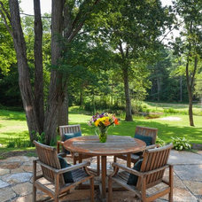Traditional Patio by Houses & Barns by John Libby