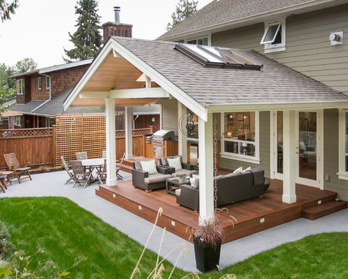 Covered Patio Roof Houzz