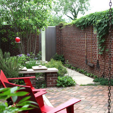 Traditional Patio by Moody Landscape Architecture
