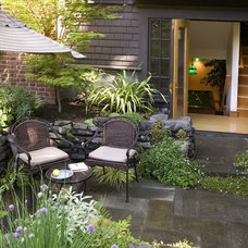 Traditional Patio by Laurie Carron Architect, AIA I LEED GA