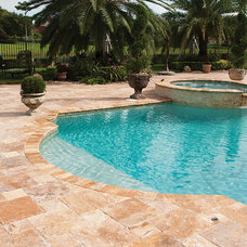 Mediterranean Patio by Country Floors