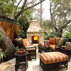 traditional patio by Culbertson Durst Interiors
