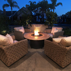 Traditional Patio by Brandon Architects, Inc.