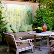 Eclectic Patio by CAROLE MEYER