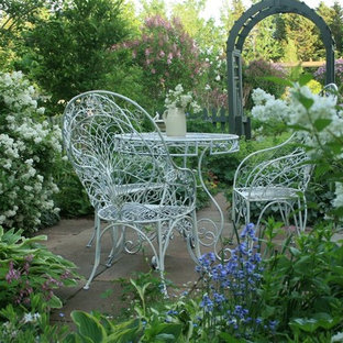 This is an example of a victorian patio in Other.