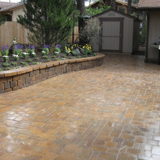 Traditional Patio by Warner's Landscape Company