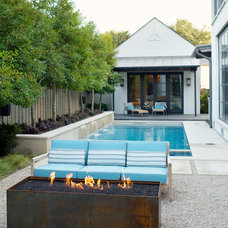 Contemporary Patio by Bonick Landscaping