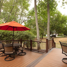Contemporary Patio by Case Design & Remodeling Indy