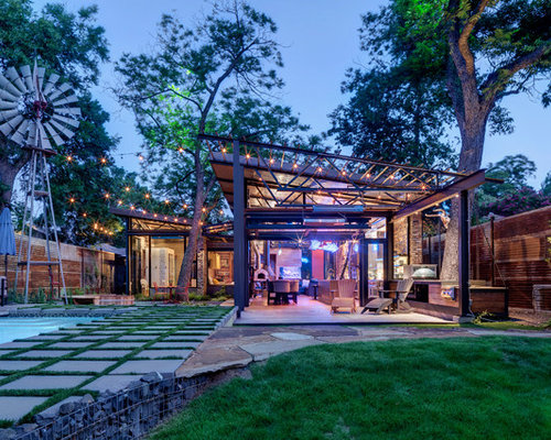 Best small patio design ideas remodel pictures houzz for Casas modernas llc west 12th street dallas tx