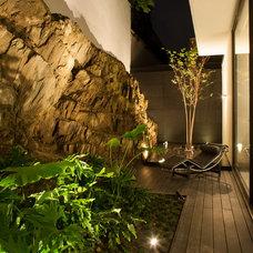 Contemporary Patio by Gilberto L. Rodriguez / GLR Arquitectos