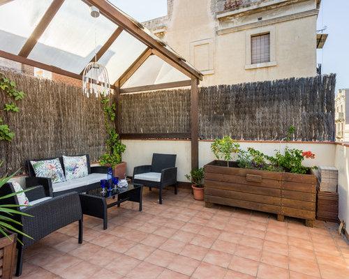 Ideas para patios dise os de patios de estilo de casa de for Patios exteriores de casas
