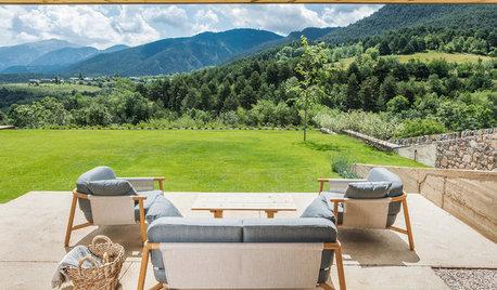 Houzz Испания: Современный дом в горах