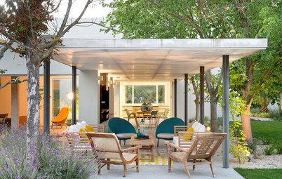 Disfruta el jardín: Atrévete a construir un porche