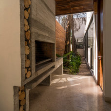 Contemporary Patio by Drawing Agency LTD